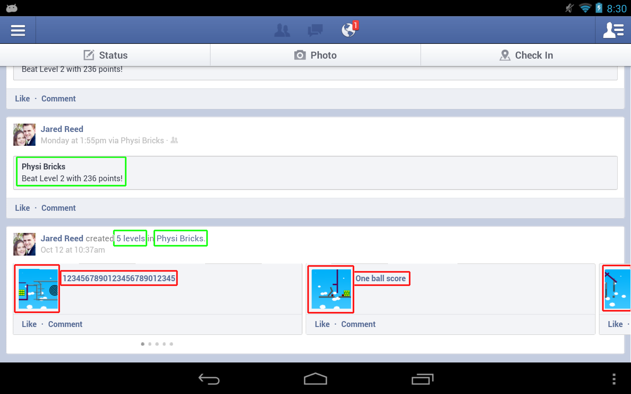 how to delete all facebook posts on android